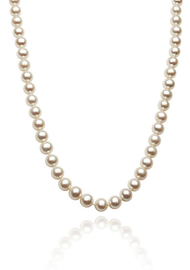 Belk & Co. 14k Yellow Gold Freshwater Pearl Necklace