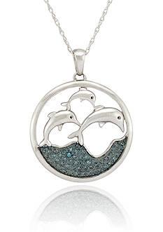Belk & Co. Dolphin Pendant in Sterling Silver