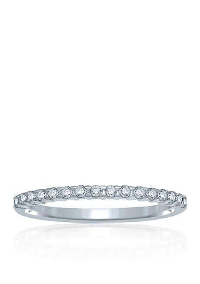 Belk & Co. 1/6 ct. t.w. Diamond Anniversary Band in 14k White Gold