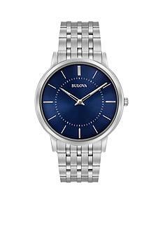 Bulova Men's Classic Ultra-Slim Stainless Steel Watch