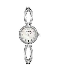 Bulova Women's Crystal Bracelet Watch