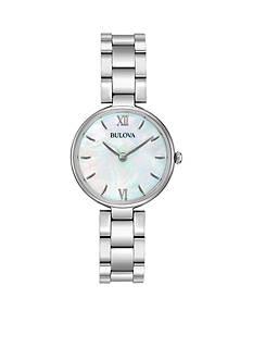 Bulova Women's Classic Stainless Steel Watch