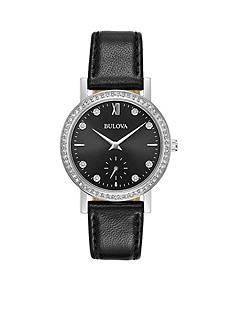Bulova Ladies Strap Crystal Watch
