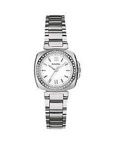 Bulova Ladies' Stainless Steel Bulova Diamond Watch