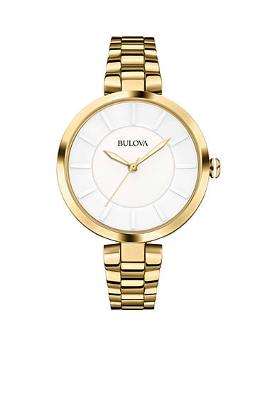 Bulova Ladies' Gold-Tone Bulova Watch