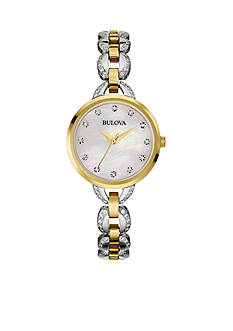 Bulova Women's Two-Tone Stainless Steel Watch