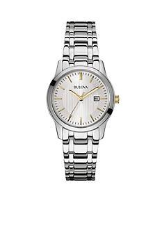 Bulova Women's Stainless Steel Bracelet Watch