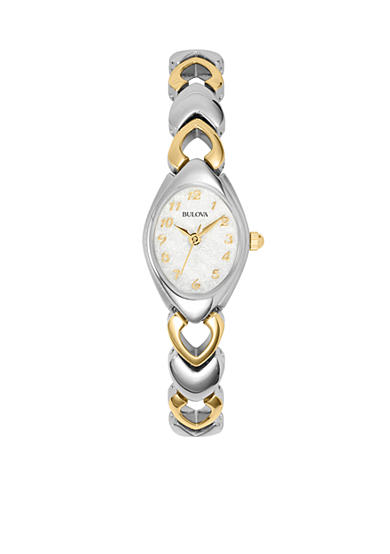 Bulova Ladies' Two Tone Bracelet