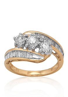 Belk & Co. Diamond Ring in 14k Yellow Gold