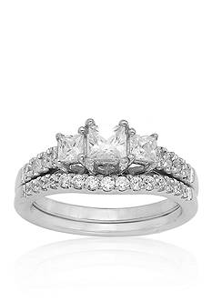 Belk & Co. 1.00 ct. t.w. Diamond Bridal Set in 14k White Gold