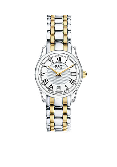 ESQ Movado Filmore Ladies Two-Tone  Watch