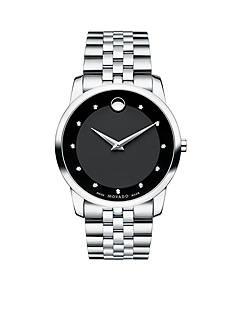 Movado Men's Black Museum Watch