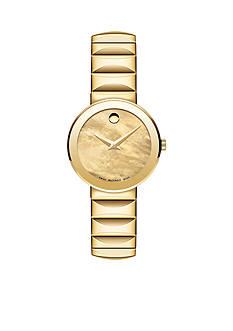 Movado Women's Sapphire Gold Watch