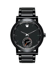 Movado Men's Black Museum Sport Motion Watch
