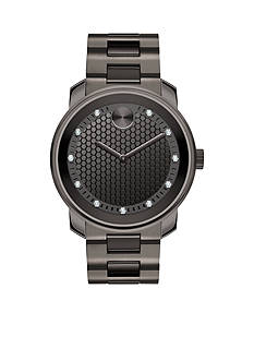 Movado Men's Bold Gunmetal Gray Watch