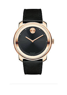Movado Men's Bold Rose Gold-Tone Watch