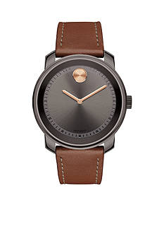 Movado Men's Bold Gunmetal Gray Stainless Steel Watch