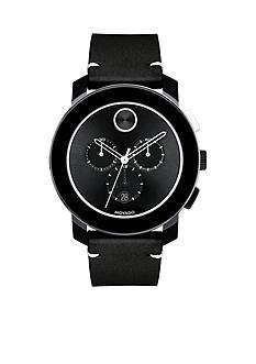 Movado Men's Bold Black Chronograph Watch