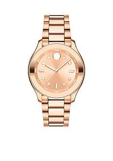Movado Rose-Gold Bold Ladies Bracelet Watch