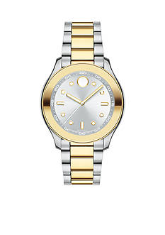 Movado Two-Tone Stainless Steel Bold Ladies Watch