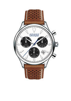 Movado Men's Heritage Series Calendoplan White Dial Watch