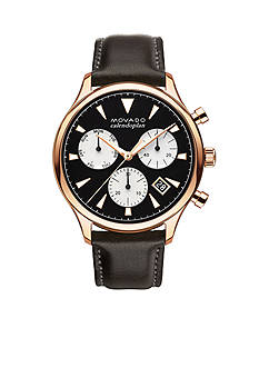 Movado Men's Heritage Series Calendoplan Chronograph Watch
