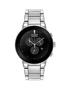 Citizen Men's Eco-Drive Stainless Steel Axiom Chronograph Watch