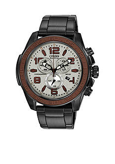 Drive from Citizen Eco-Drive Men's BRT Black IP Chronograph Watch