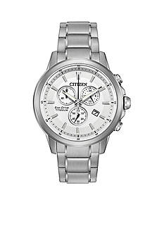 Citizen Men's Eco-Drive TI-IP Watch