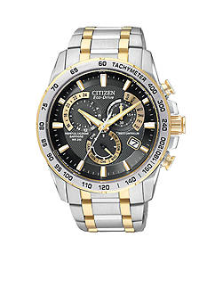Citizen Eco-Drive Two-Tone Perpetual Chrono AT