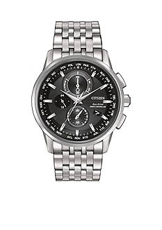 Citizen Eco-Drive Men's World Chronograph Watch