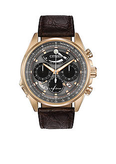 Citizen Men's Rose Gold-Tone Eco-Drive Calibre 2100 Watch