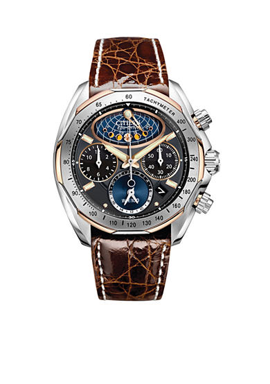 Citizen Eco-Drive Men's Signature Moon Phase Flyback Watch - Online Only