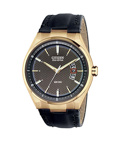Citizen Men's Drive by Eco-Drive Rose Gold Tone Watch