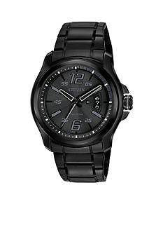 Men's Drive From Citizen Eco-Drive Black Ion Plated Stainless Steel Watch