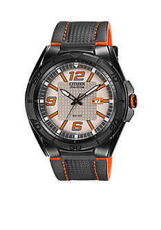 Drive from Citizen Eco-Drive Men's Black IP Stainless Steel Strap Watch