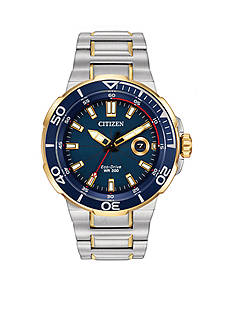 Citizen Eco-Drive Men's Two-Tone Endeavor Watch