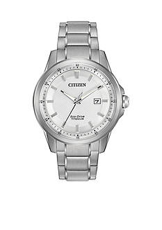 Men's Citizen Eco-Drive TI-IP Watch