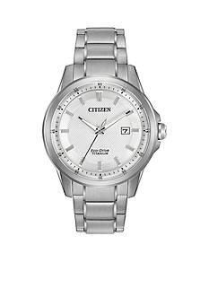 Men's Citizen Eco-Drive TI-IP Watch