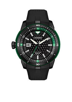 Citizen Men's Eco-Drive Golf Black Watch