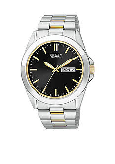 Citizen EDV Quartz Men's Two-Tone Watch