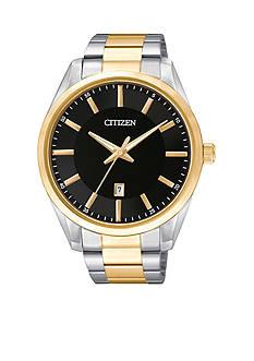 Citizen Men's Quartz Two-Tone Stainless Steel Three Hand Basic Watch