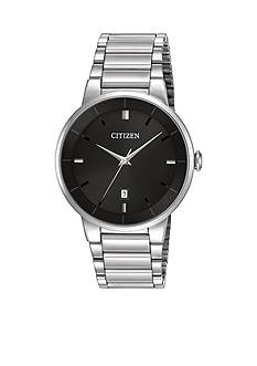 Citizen EDV Men's Quartz Black Dial Watch