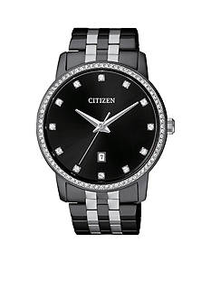 Citizen Men's Crystal Bezel Quartz Watch