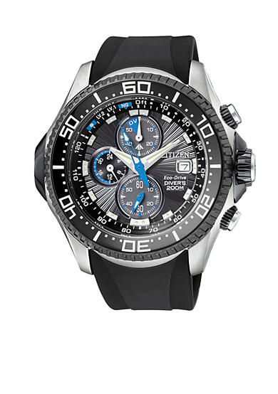 Citizen Eco Drive Men's Depth Meter Chronograph Watch