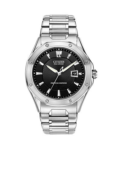 Citizen Eco-Drive Men's Signature Octavia Perpetual with Anti-Reflective Sapphire Crystal Watch