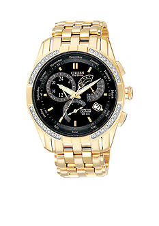 Citizen Eco-Drive Men's Calibre 8700 Diamond Bezel Watch - Online Only