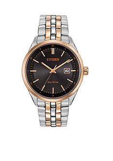 Citizen Eco-Drive Sapphire Crystal Contemporary Dress Watch