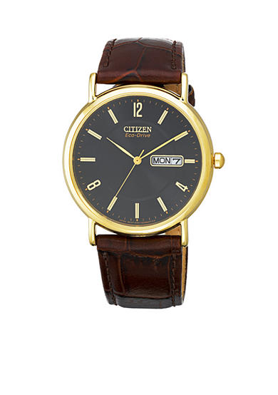 Citizen Eco-Drive Men's Dress Strap Watch