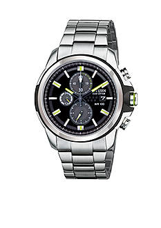Citizen Men's Drive by Eco-Drive Stainless Steel Chronograph